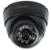 Konig Konig CCTV Dome Beveiligings Binnencamera met IR LED en Nachtzicht