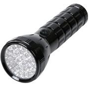 HQ HQ Ultra Heldere Waterdichte Aluminium 28 LED's Zaklamp Black