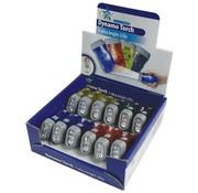 HQ HQ Toonbankdisplay met 3 LED's 12 stuks Plastic Zaklampen