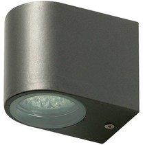 Ranex LED RVS Buiten Muurlamp Bastia Grey