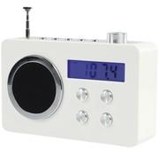 BasicXL BasicXL Draagbare FM Radio White