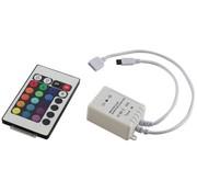 HQ RGB LED 12V DC Controller met 24 Key Infrarood Afstandsbediening