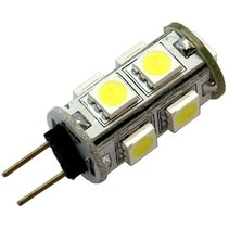 G4 9 x 5050 SMD LED Cool White 12V Chip
