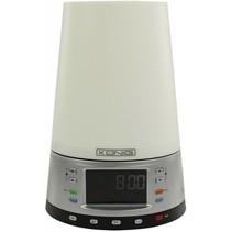 König Wake up FM LED Wekkerradio Silver