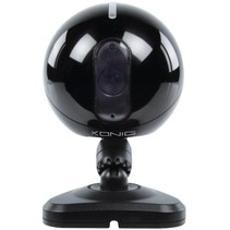 Konig 6 LED's IP Binnencamera Black