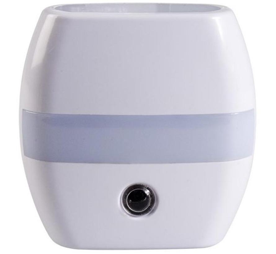 Alecto ANV-21 Blue LED Automatische Nachtlampje Grey