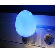Ansmann Ansmann NL-2B Eivormig LED Nachtlampje - Blue