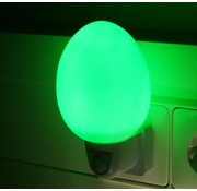Ansmann Ansmann NL-2G Eivormig LED Nachtlampje - Green