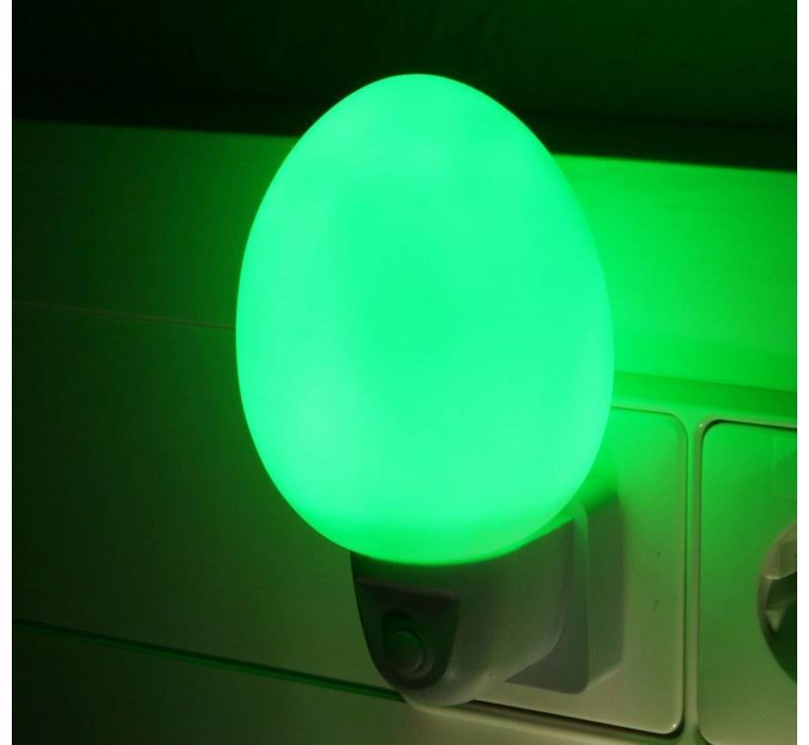 Ansmann NL-2G Eivormig LED Nachtlampje - Green