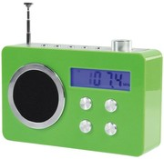 BasicXL BasicXL Draagbare FM Radio Green