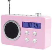 BasicXL BasicXL Draagbare FM Radio Pink