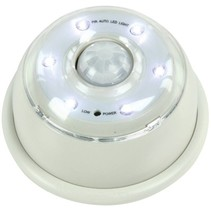 HQ IR Sensor 6 LED's Lamp White - Grey