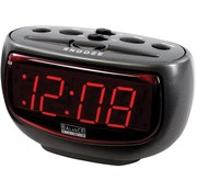 Balance Time Balance Time Red LED Wekker - Antraciet