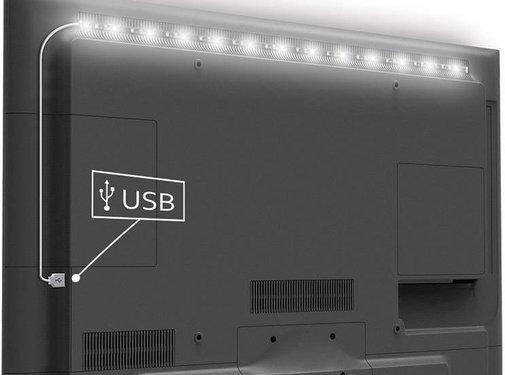 Konig Konig USB LED TV-strip 90 CM - Cool White