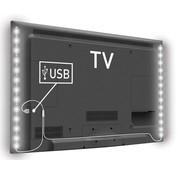 Konig Konig USB LED TV-strip 2-set 50 CM - Cool White
