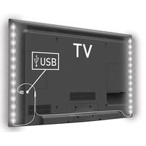 Konig USB LED TV-strip 2-set 50 CM - Cool White