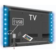 Konig Konig USB LED TV-strip 2-set 50 CM - RGB met Afstandbediening