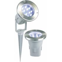 Ranex Todi LED Grondspot 3-set - Grey