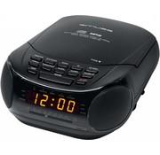 Muse Muse M-125 CRB Klokradio met CD / MP3-speler - Black