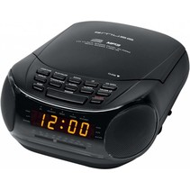 Muse M-125 CRB Klokradio met CD / MP3-speler - Black