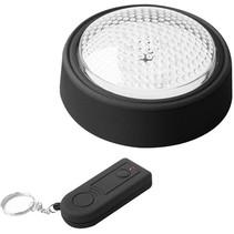ProPlus 5 LED's Druklamp met Afstandsbediening - Black