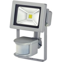Brennenstuhl LCN 110 COB LED Lamp met Bewegingssensor 10 W - Grey