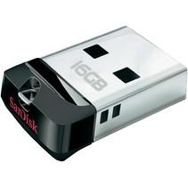 SanDisk LED USB-stick Cruzer Fit 16GB