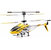 Syma Syma S107G 3-Channel RC Mini LED Helicopter - Yellow