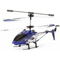 Syma S107G 3-Channel RC Mini LED Helicopter - Blue