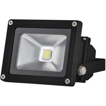 Perel LEDA3001CW-B COB 6500K LED Lamp 10 W - Black