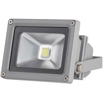 Perel LEDA3001CW-G COB 6500K LED Lamp 10 W - Grey