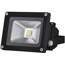 Perel LEDA3001WW-B COB LED 3800K Lamp 10 W - Black
