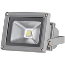 Perel LEDA3001WW-G COB 3800K LED Lamp 10 W - Grey