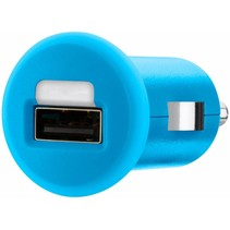 Belkin Mixit LED USB Autolader 1 A - Blue