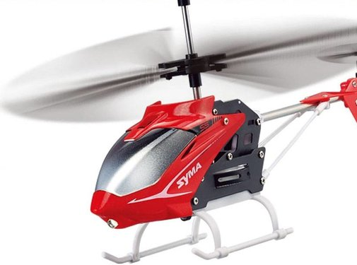 Syma Syma S5 Speed 3-Channel RC Mini LED Helicopter - Red