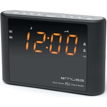 Muse M-175 CR Klokradio PLL - Black