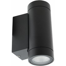 HQ Intenso LED Wandlamp Rond - Antraciet