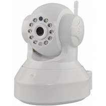 Valueline HD Kantel Zwenk IP-camera voor Binnen 2-wegs Audio - White