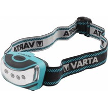 Varta Outdoor Sport 4 x LED Hoofdlamp - Blue