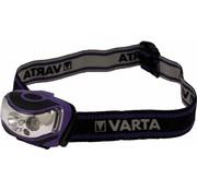 Varta Varta Outdoor Sport 2 x LED Hoofdlamp - Lila