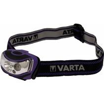 Varta Outdoor Sport 2 x LED Hoofdlamp - Lila