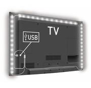 Konig Konig USB LED TV-strip Dimbaar 2 x 45 CM 1 x 90 CM - Cool White