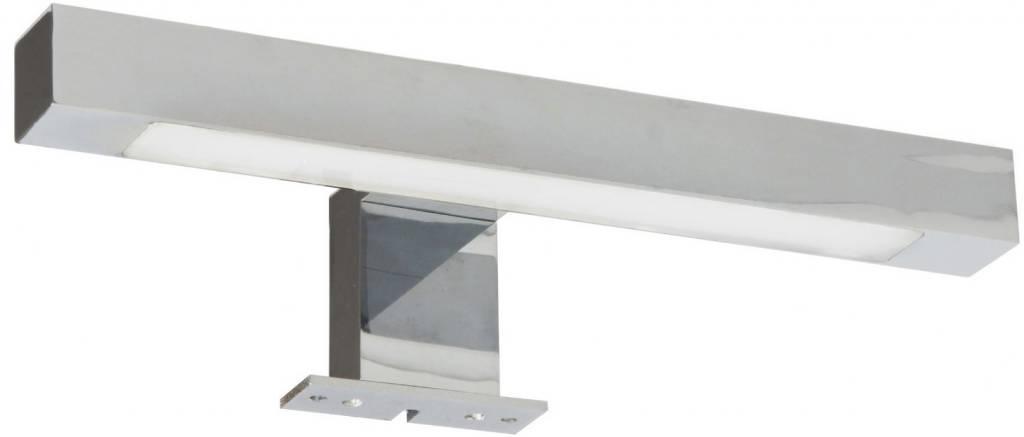 ranex reggiana led spiegellamp metaal glas chroom kopen. Black Bedroom Furniture Sets. Home Design Ideas