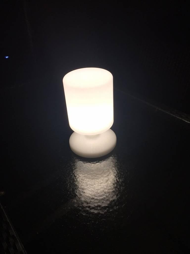 Ranex Travis LED Tafellamp Kunstof - Wit kopen? | LEDClear.nl