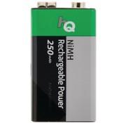 HQ HQ NiMH 9V-batterij 250 mAh Oplaadbaar - 1 set