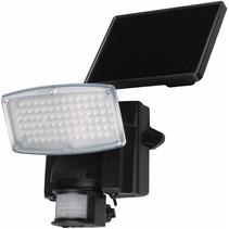 Ranex Liverpool Solar Wandlamp met Bewegingsmelder - Zwart