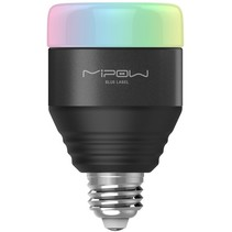 MiPow Playbulb Smart LED Lamp E27 5 W (40 W) - Zwart