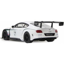 Jamara LED Bentley Continental GT3 RC 1:14 - Wit