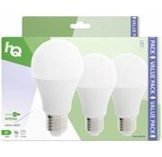HQ HQ E27 A60 LED Lamp 3-pack 5.5W (40W) - 2700 K