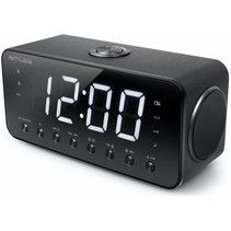 Muse M-192 CR Wekkerradio met Groot Display - Zwart